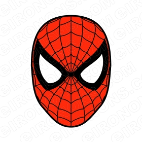 SPIDER-MAN BIG HEAD COMIC T-SHIRT IRON-ON TRANSFER DECAL #CSM4