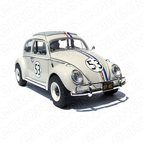 HERBIE THE LOVE BUG MOVIE T-SHIRT IRON-ON TRANSFER DECAL #MHTLB1