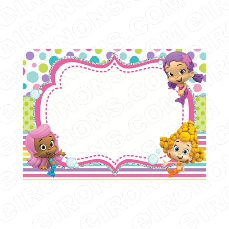 BUBBLE GUPPIES BLANK EDITABLE INVITATION INSTANT DOWNLOAD IBG3
