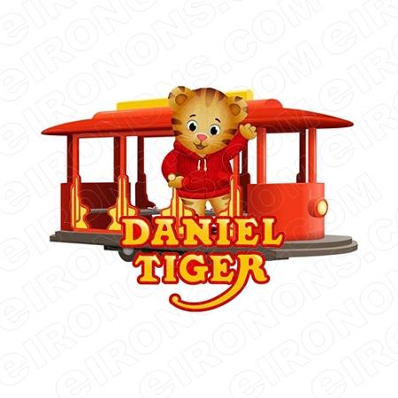 Daniel The Tiger Iron On Transfer Light or Dark Fabrics 5 x 7 Size