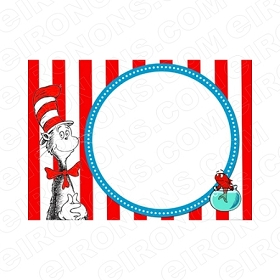 DR SEUSS BLANK EDITABLE INVITATION INSTANT DOWNLOAD #IDS3