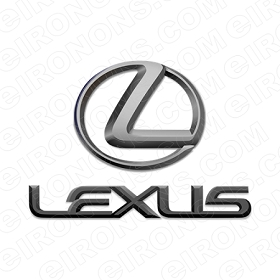 LEXUS LOGO AUTO T-SHIRT IRON-ON TRANSFER DECAL #AL1