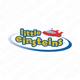 LITTLE EINSTEINS LOGO CHARACTER T-SHIRT IRON-ON TRANSFER DECAL #CLE10