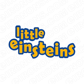 LITTLE EINSTEINS LOGO CHARACTER T-SHIRT IRON-ON TRANSFER DECAL #CLE11