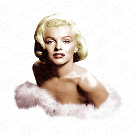 MARILYN MONROE TV T-SHIRT IRON-ON TRANSFER DECAL #TVMMR9