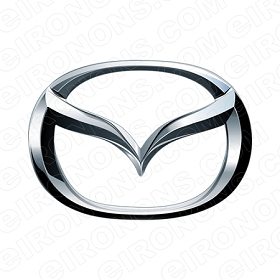 MAZDA LOGO AUTO T-SHIRT IRON-ON TRANSFER DECAL #AM1