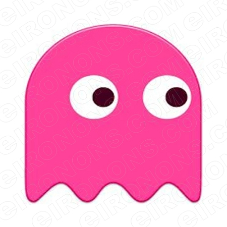 Pacman Ghost Pink