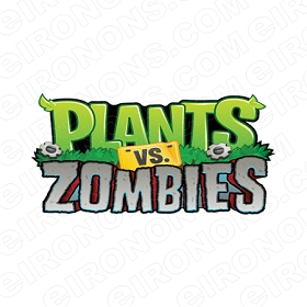 PLANTS VS ZOMBIES VIDEO GAME T-SHIRT IRON-ON TRANSFER DECAL #VGPVZ2