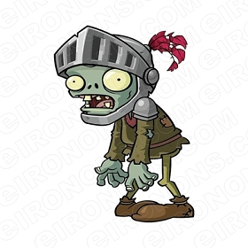 PLANTS VS ZOMBIES VIDEO GAME T-SHIRT IRON-ON TRANSFER DECAL #VGPVZ5