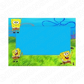 SPONGEBOB SQUAREPANTS BLANK EDITABLE INVITATION INSTANT DOWNLOAD #ISS2