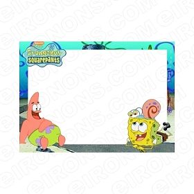 SPONGEBOB SQUAREPANTS BLANK EDITABLE INVITATION INSTANT DOWNLOAD #ISS5