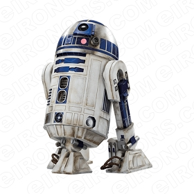STAR WARS R2-D2 MOVIE T-SHIRT IRON-ON TRANSFER DECAL #MSW10