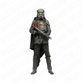 STAR WARS SOLO MUDTROOPER MOVIE T-SHIRT IRON-ON TRANSFER DECAL #MSWS12