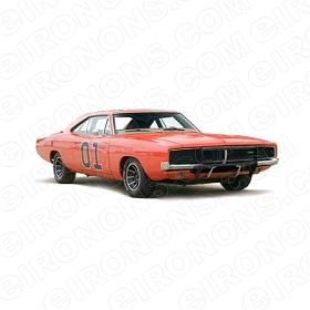 THE DUKES OF HAZZARD GENERALLEE MOVIE TV T-SHIRT IRON-ON TRANSFER DECAL #TDOH1