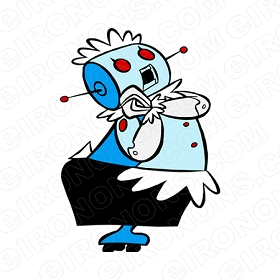 THE JETSONS ROSIE CHARACTER T-SHIRT IRON-ON TRANSFER DECAL #CTJ12