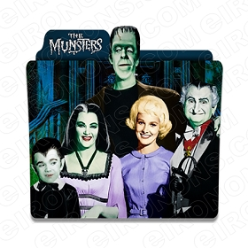 THE MUNSTERS GROUP POSE MOVIE TV T-SHIRT IRON-ON TRANSFER DECAL #TM3