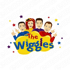THE WIGGLES LOGO CHARACTER CLIPART PNG IMAGE SCRAPBOOK INSTANT DOWNLOAD #CTW8