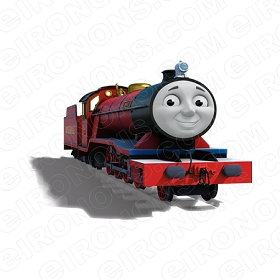 THOMAS & FRIENDS MIKE CHARACTER T-SHIRT IRON-ON TRANSFER DECAL #CTAF5