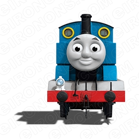 THOMAS & FRIENDS THOMAS FRONT VIEW CHARACTER T-SHIRT IRON-ON TRANSFER DECAL #CTAF7