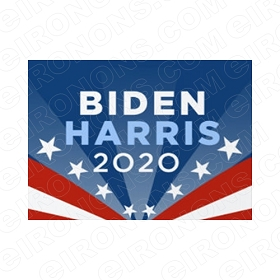 JOE BIDEN KAMALA HARRIS USA LOGO POLITICAL DEMOCRAT T-SHIRT IRON-ON TRANSFER DECAL #PDJBKH2