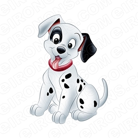 101 DALMATIANS CHARACTER T-SHIRT IRON-ON TRANSFER DECAL #C101D1