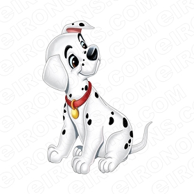 101 DALMATIANS FRECKLES CHARACTER T-SHIRT IRON-ON TRANSFER DECAL #C101D3