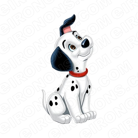 101 DALMATIANS LUCKY CHARACTER T-SHIRT IRON-ON TRANSFER DECAL #C101D5