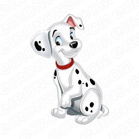 101 DALMATIANS PEPPER CHARACTER T-SHIRT IRON-ON TRANSFER DECAL #C101D8