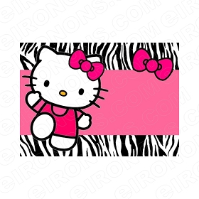 HELLO KITTY BLANK EDITABLE INVITATION INSTANT DOWNLOAD #IHK8
