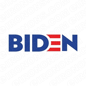JOE BIDEN LOGO POLITICAL DEMOCRAT T-SHIRT IRON-ON TRANSFER DECAL #PDJB5