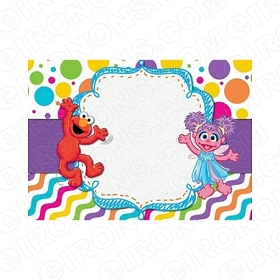 ABBY CADABBY BLANK EDITABLE INVITATION INSTANT DOWNLOAD #IAC3