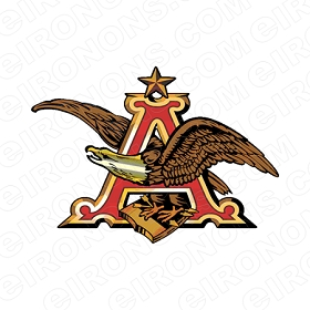 ANHEUSER-BUSCH LOGO ALCOHOL CLIPART PNG IMAGE SCRAPBOOK INSTANT DOWNLOAD