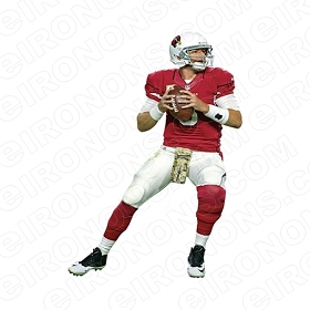 ARIZONA CARDINALS  CARSON PALMER SPORTS NFL FOOTBALL T-SHIRT IRON-ON TRANSFER DECAL #SFAC1