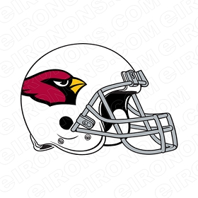ARIZONA CARDINALS  HELMET SPORTS NFL FOOTBALL T-SHIRT IRON-ON TRANSFER DECAL #SFAC4