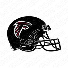 ATLANTA FALCONS  HELMET SPORTS NFL FOOTBALL T-SHIRT IRON-ON TRANSFER DECAL #SFAF1