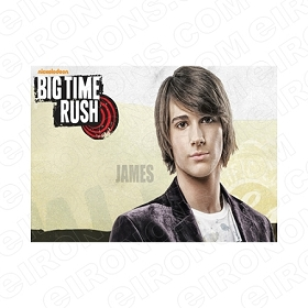 BIG TIME RUSH JAMES MUSIC T-SHIRT IRON-ON TRANSFER DECAL #MBTR9