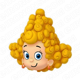 BUBBLE GUPPIES DIGITAL DEEMA BIG HEAD CLIPART PNG IMAGE SCRAPBOOK INSTANT DOWNLOAD