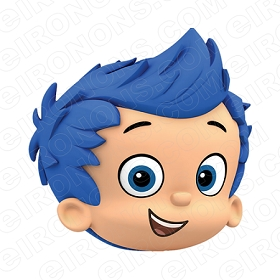 BUBBLE GUPPIES DIGITAL GIL BIG HEAD CLIPART PNG IMAGE SCRAPBOOK INSTANT DOWNLOAD