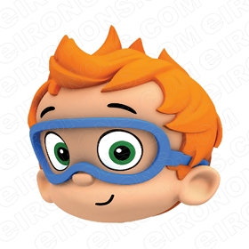 BUBBLE GUPPIES DIGITAL NONNY BIG HEAD CLIPART PNG IMAGE SCRAPBOOK INSTANT DOWNLOAD