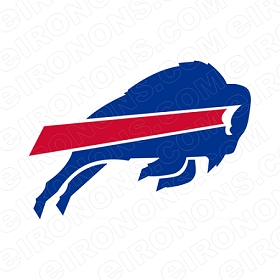 BUFFALO BILLS LOGO SPORTS NFL FOOTBALL T-SHIRT IRON-ON TRANSFER DECAL #SFBB3