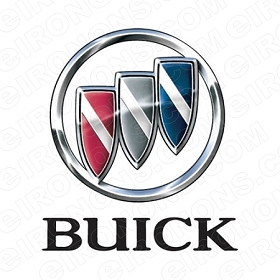 BUICK LOGO AUTO T-SHIRT IRON-ON TRANSFER DECAL #ABL1