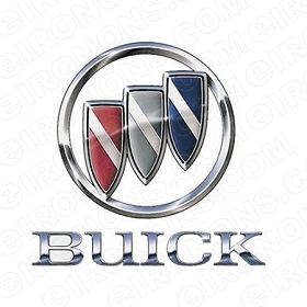 BUICK LOGO AUTO T-SHIRT IRON-ON TRANSFER DECAL #ABL2