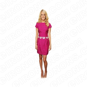 CARRIE UNDERWOOD IN PINK MUSIC T-SHIRT IRON-ON TRANSFER DECAL #MCU5
