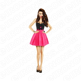 CHER LLOYD PINK DRESS MUSIC T-SHIRT IRON-ON TRANSFER DECAL #MCL7