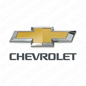CHEVROLET LOGO AUTO T-SHIRT IRON-ON TRANSFER DECAL #ACL1