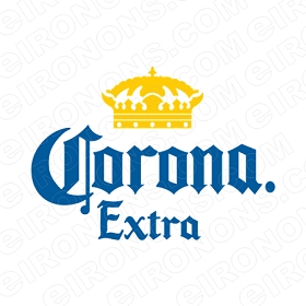 CORONA EXTRA LOGO ALCOHOL T-SHIRT IRON-ON TRANSFER DECAL #ACE1