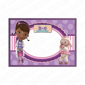 DOC MCSTUFFINS BLANK EDITABLE INVITATION INSTANT DOWNLOAD #IDM1
