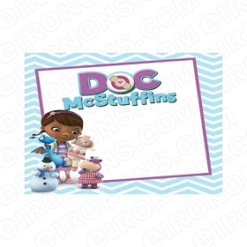 DOC MCSTUFFINS BLANK EDITABLE INVITATION INSTANT DOWNLOAD #IDM4