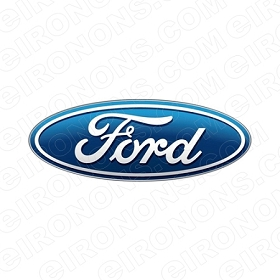 FORD LOGO AUTO T-SHIRT IRON-ON TRANSFER DECAL #AFL2