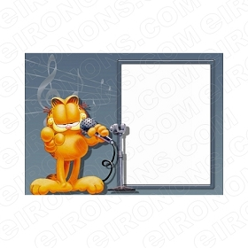 GARFIELD BLANK EDITABLE INVITATION INSTANT DOWNLOAD #IG2